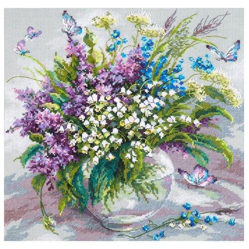Купить Чудесная Игла Набор для вышивания Ласковый май 32 x 32 см (40-70), Наборы для вышивания