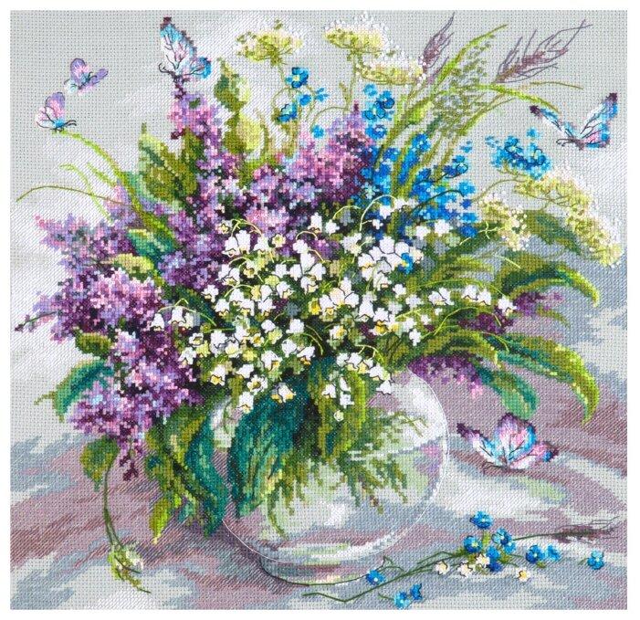 Чудесная Игла Набор для вышивания Ласковый май 32 x 32 см (40-70)