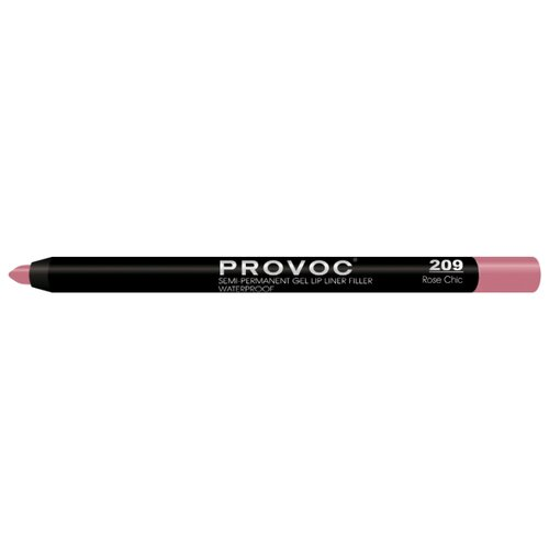 Provoc Гелевая подводка в карандаше для губ Semi-Permanent Gel Lip Liner 209 rose chicКонтур для губ<br>
