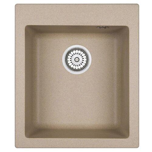 Фото - Врезная кухонная мойка 41.5 см Granula 4201 песок врезная кухонная мойка 57 5 см granula 5802 антик