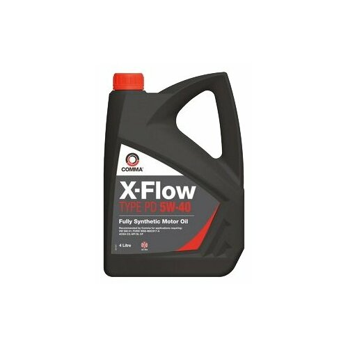 Моторное масло Comma X-Flow Type PD 5W-40 4 л моторное масло comma x flow type pd 5w 40 5 л