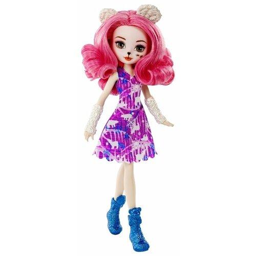 кукла mattel ever after high сказка наизнанку седар вуд cdm49 cdm51 Кукла Ever After High Эпическая зима Пикси Вероникуб, 26 см, DNR65