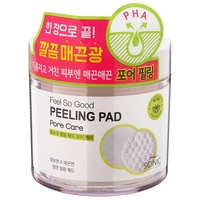 Scinic Feel So Good Peeling Pad очищающие пилинг-спонжи с PНА кислотами