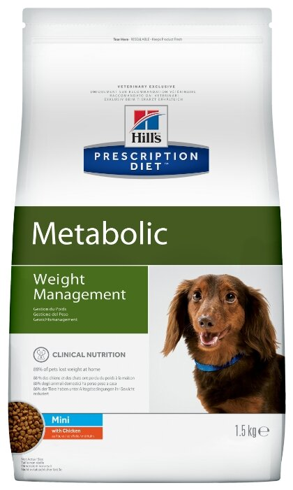 Корм для собак Hill's Prescription Diet Metabolic Canine Mini dry