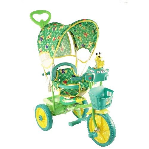 Трехколесный велосипед JAGUAR MS-0737 зеленый