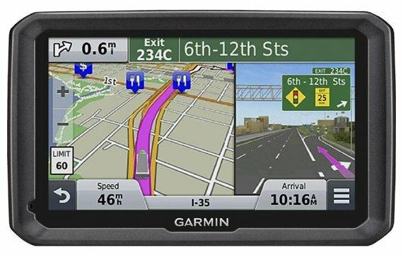 Навигатор Garmin Dezl 570 LMT