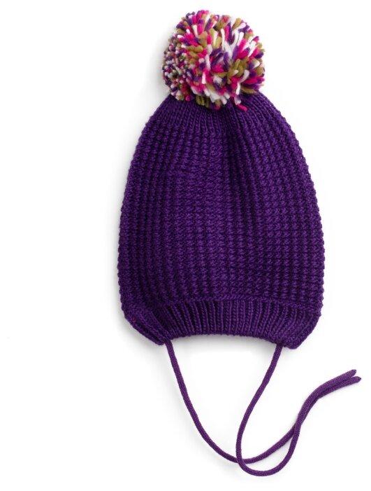 Шапка playToday размер 50, фиолетовый
