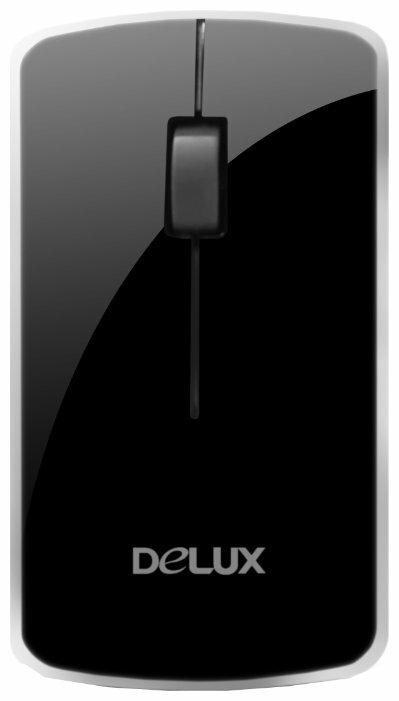 Мышь Delux DLM-125G Black-Silver USB