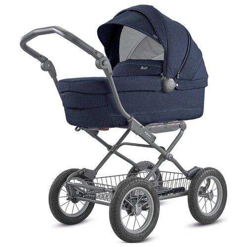 Коляска для новорожденных Inglesina Sofia 2018 (люлька, шасси Ergo bike) imperial blue, Коляски  - купить со скидкой
