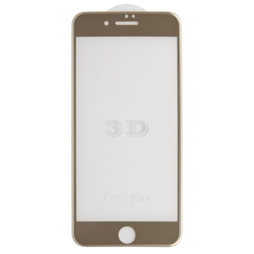 Защитное стекло Liberty Project 3D Tempered Glass с рамкой для Apple iPhone 7 Plus золото защитное стекло liberty project для huawei p smart z tempered glass 0 33mm 2 5d 9h 0l 00043775