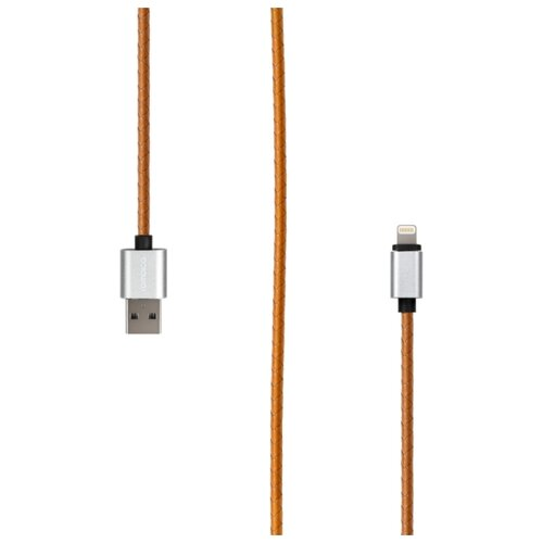 Кабель Rombica Digital USB - Lightning MFI (IL-01/02/03) 1 м оранжевый qumo lightning usb mfi rose gold кабель 1 м
