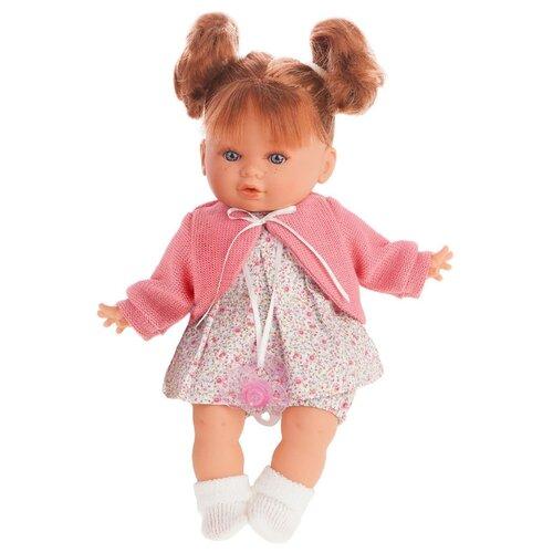 Купить Интерактивная кукла Antonio Juan Монси в розовом, 30 см, 1333P, Куклы и пупсы