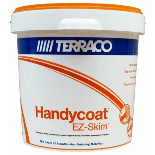 Фото - Шпатлевка Terraco Нandycoat EZ-Skim, белый, 25 кг шпатлевка готовая terraco handycoat all purpose универсальная 25кг арт 6311225