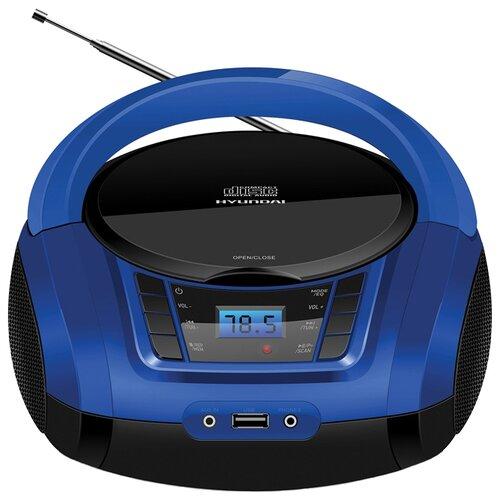 Магнитола Hyundai H-PCD320/H-PCD340/H-PCD360 черный/синий