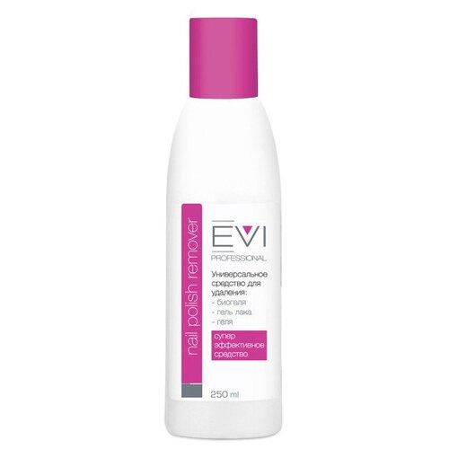 EVI professional Жидкость для снятия биогеля, геля, гель-лака 250 мл гель для ежедневного умывания cleanmat 225 мл premium home work