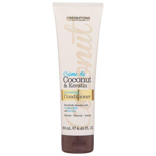 Creightons кондиционер Crème de Coconut & Keratin с кокосовым кремом и кератином Увлажнение + Питание, 250 мл мыло с колд кремом авен