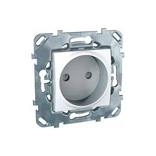 Розетка Schneider ElectricMGU5.033.18ZD UNICA, 16 А, с защитной шторкой, белый