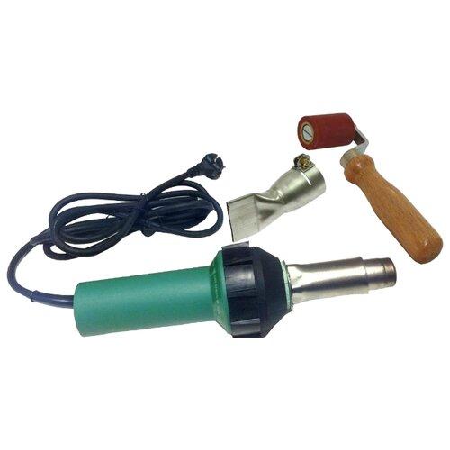 Профессиональный строительный фен MELTPLAST 1600 (комплект для сварки внахлест)
