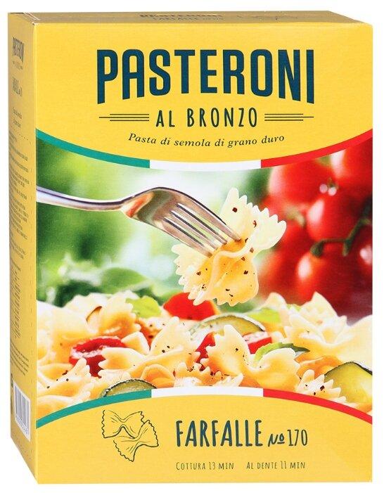 Pasteroni Макароны Farfalle 170, 400 г