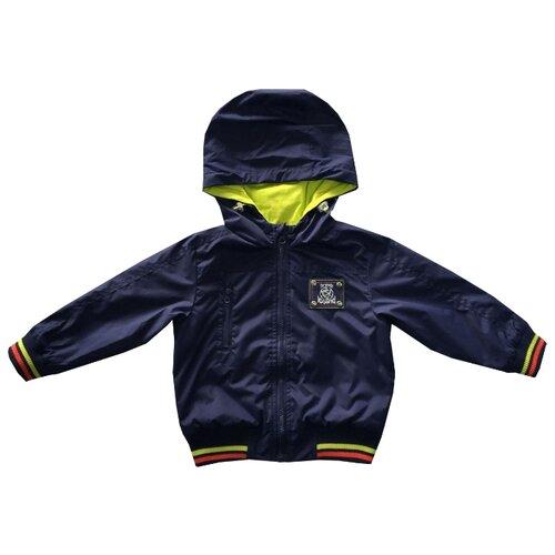 Ветровка V-Baby 51-002 размер 122, синийКуртки и пуховики<br>