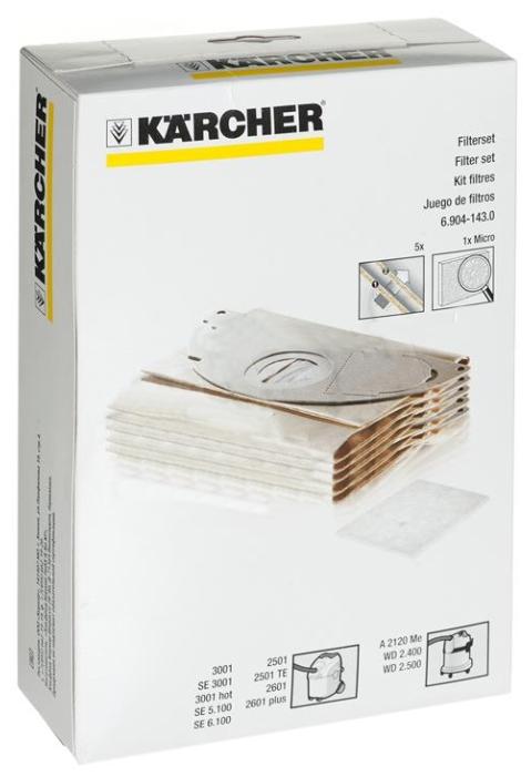 KARCHER Мешки бумажные 6.904 143