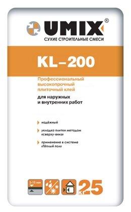 Клей Umix KL-200 25 кг