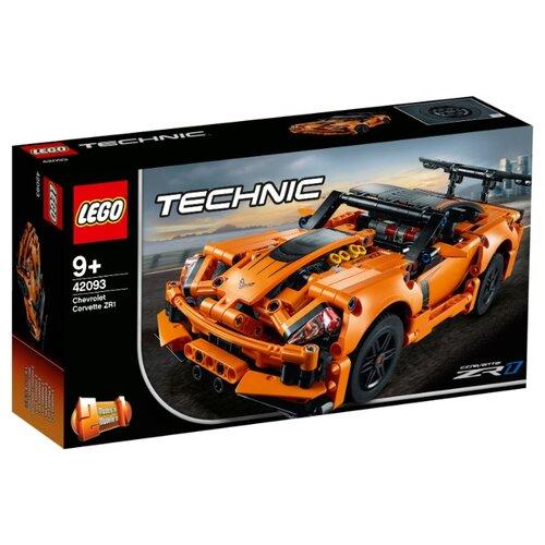 Конструктор LEGO Technic 42093 Шевроле Корветт ZR1 lego конструктор lego technic 42080 лесозаготовительная машина