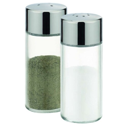 Tescoma Набор емкостей для соли и перца Club 650314 прозрачный/стальной vigar набор емкостей для соли и