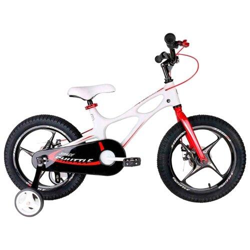 Детский велосипед Royal Baby RB16-22 Space Shuttle 16 белый (требует финальной сборки) детский велосипед royal baby honey steel 18 2016 черный