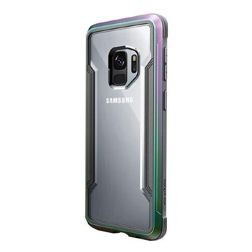 Чехол-накладка X-Doria Defense Shield для Samsung Galaxy S9 радужный