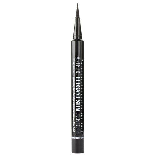 Relouis Подводка-фломастер для глаз Artistic Elegant Slim Contour, оттенок черный