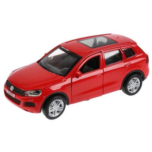 Купить Легковой автомобиль ТЕХНОПАРК Volkswagen Touareg (TOUAREG-BK/BU/RD) 1:36 12 см красный, Машинки и техника