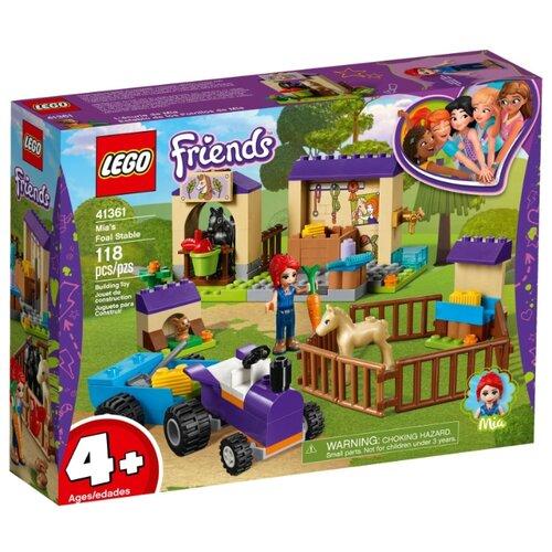 Купить Конструктор LEGO Friends 41361 Конюшня для жеребят Мии, Конструкторы