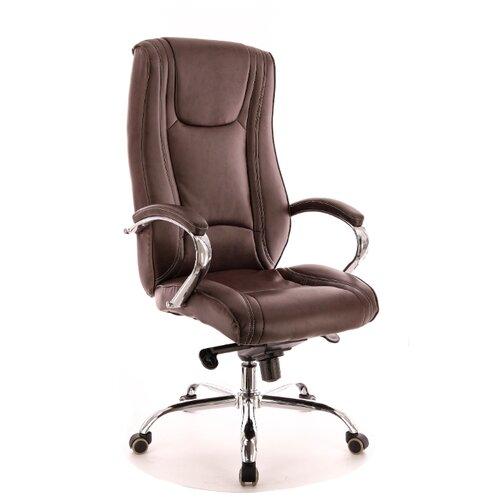 Фото - Компьютерное кресло Everprof Argo M для руководителя, обивка: искусственная кожа, цвет: коричневый компьютерное кресло everprof drift m для руководителя обивка натуральная кожа цвет коричневый