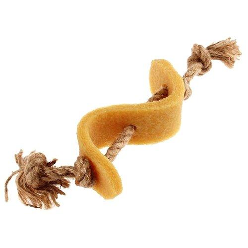 Игрушка для собак GiGwi Gum Gum Dog Доллар (75344) бежевый