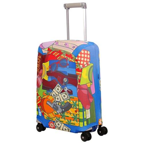 Чехол для чемодана ROUTEMARK Fortunatto SP240 S, разноцветныйЧемоданы<br>