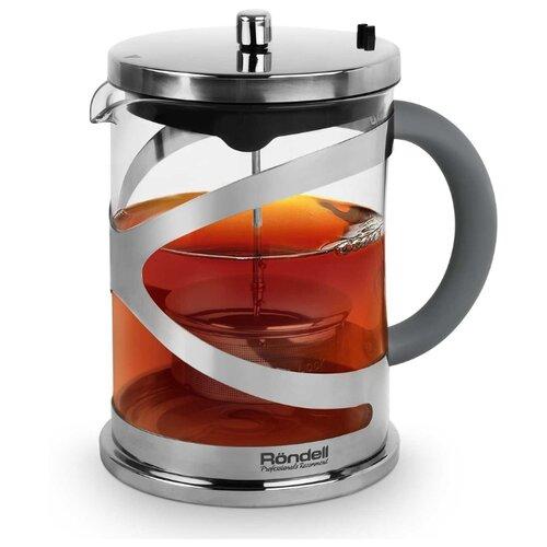 Фото - Rondell Заварочный чайник Crystal Grey RDS-1061 1 л серый 922 rds чайник 2 0 л strike grey