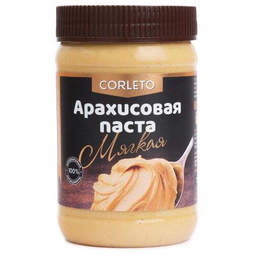 Corleto Арахисовая паста Мягкая, 450 гШоколадная и ореховая паста<br>