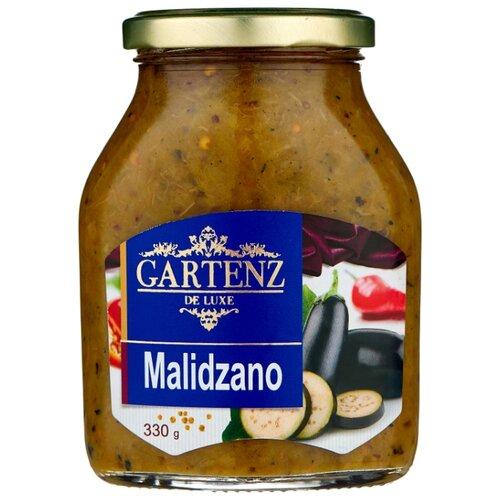 Малиджано De Luxe Gartenz стеклянная банка 330 г перчики фаршированные тунцом de luxe gartenz стеклянная банка 280 г