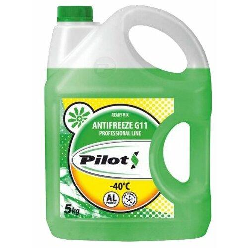 Антифриз Pilots G-11 Green 5 кг