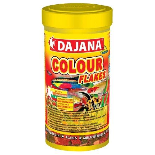 Сухой корм Dajana Pet Colour Flakes для рыб 500 мл 100 г