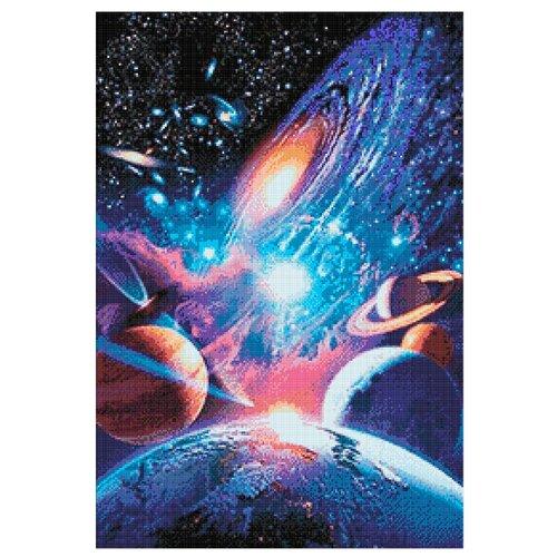 Гранни Набор алмазной вышивки Вселенная бесконечна (ag144) 48x70 смАлмазная вышивка<br>