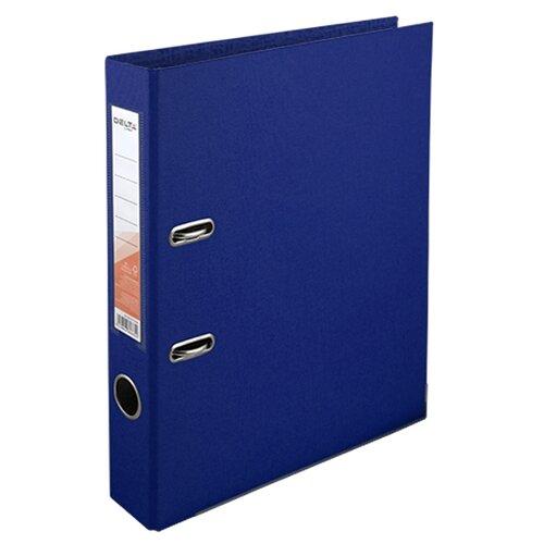 Купить Delta by Axent Папка-регистратор A4 с двусторонним покрытием, 5 cм синий, Файлы и папки