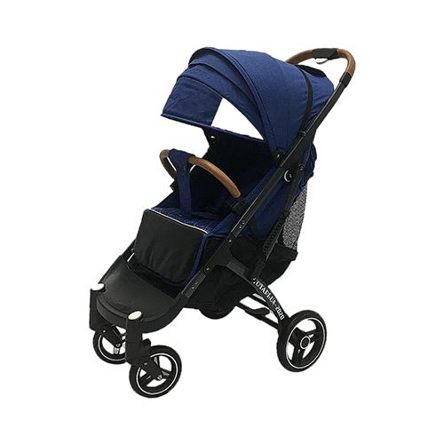 Купить Прогулочная коляска Yoya Plus Pro Max 2020 (дожд., москит., подстак., бампер, сумка-чехол, корзина д/покупок, ремешок на руку, накидка на ножки на молнии, бамб. коврик) синий/серая рама, цвет шасси: серый, Коляски
