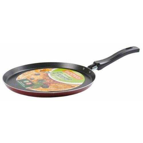 Сковорода блинная Scovo Expert СЭ-040 25 см, бордовый