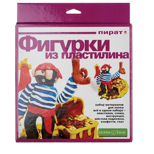 Пластилин Альт Набор №7 Игрушка из пластилина Пират (2-304/07)