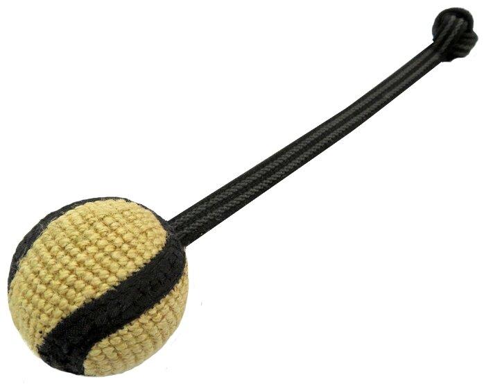 Мячик для собак Ankur джутовый с ручкой 36х6 см