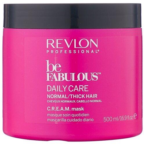 Revlon Professional Be Fabulous Маска для нормальных и густых волос, 500 мл revlon кондиционер для густых и нормальных волос be fabulous 250 мл