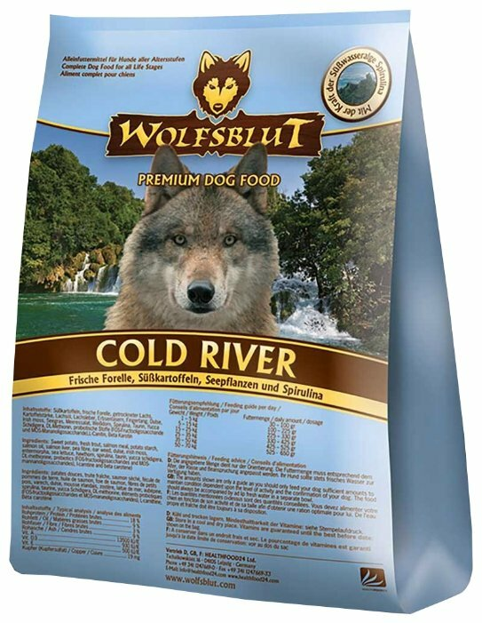 Корм для собак Wolfsblut Cold River