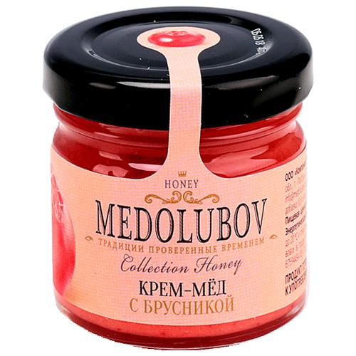 Крем-мед Medolubov с брусникой 40 мл